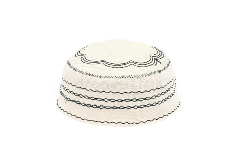 穆斯林的Kopiah帽子 库存图片