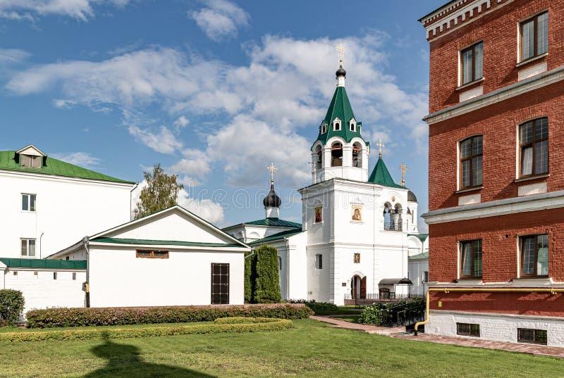 穆罗姆变貌修道院 俄罗斯正教会的穆罗姆主教管区的男性修道院 库存图片