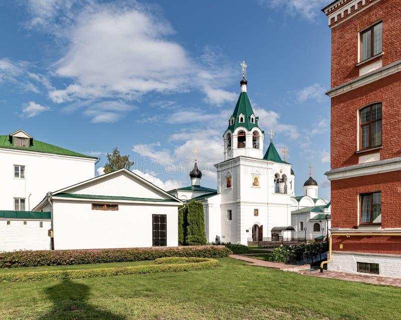 穆罗姆变貌修道院 俄罗斯正教会的穆罗姆主教管区的男性修道院 免版税库存照片