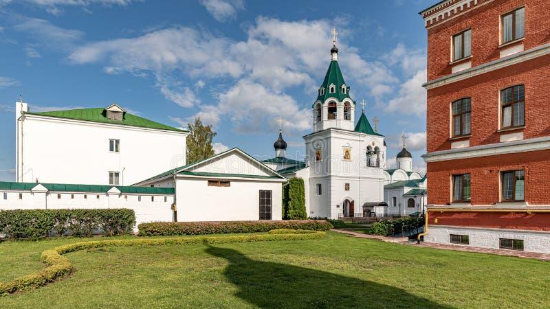 穆罗姆变貌修道院 俄罗斯正教会的穆罗姆主教管区的男性修道院 免版税库存图片