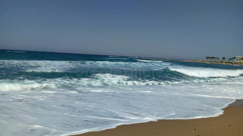 穆萨海湾 库存照片