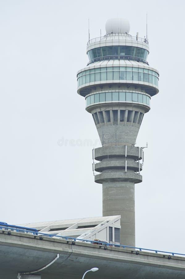 空中交通管理塔 库存照片