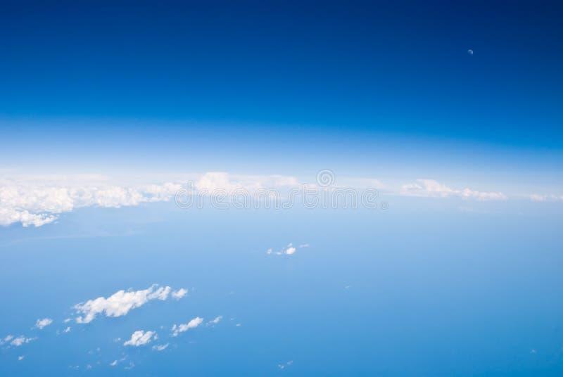 空中地球视图 库存图片