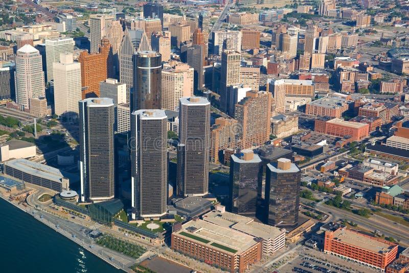 空中城市 库存照片