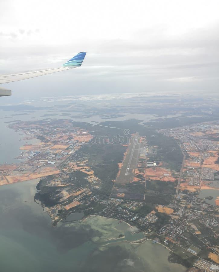空中客车A330上升 库存图片