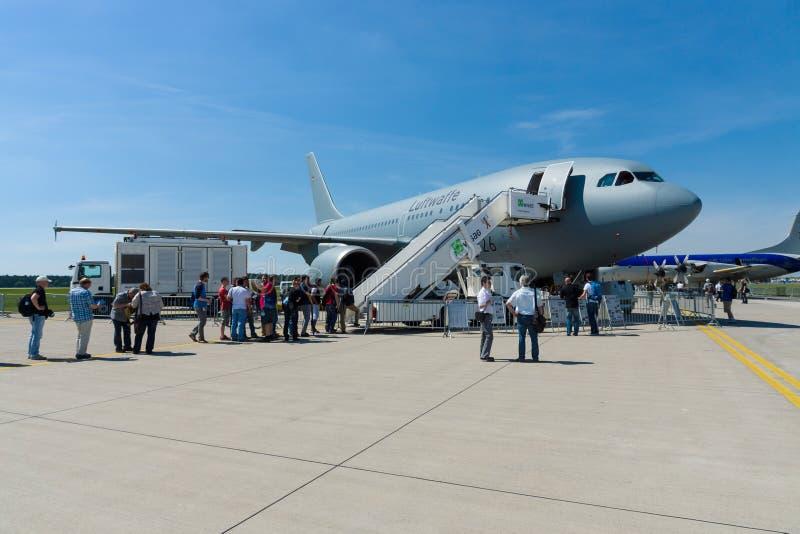 空中客车A310多角色油轮运输MRTT 德语空军队 库存照片