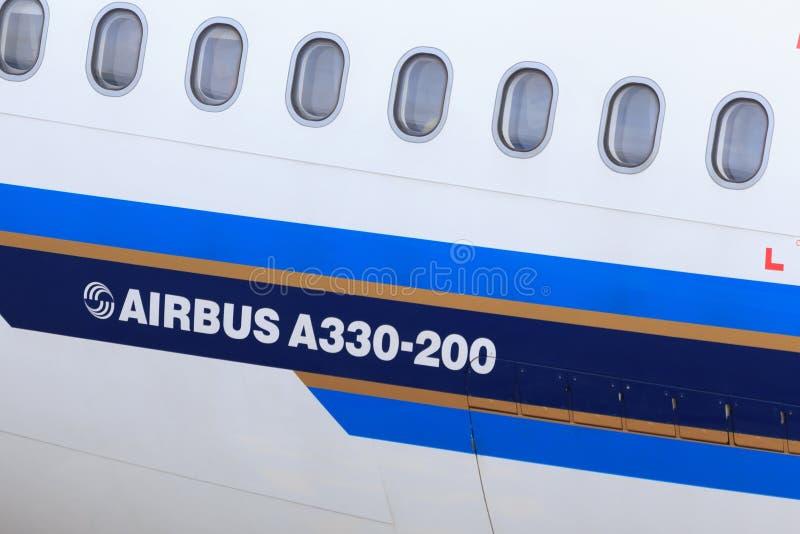 空中客车A330细节 免版税库存图片