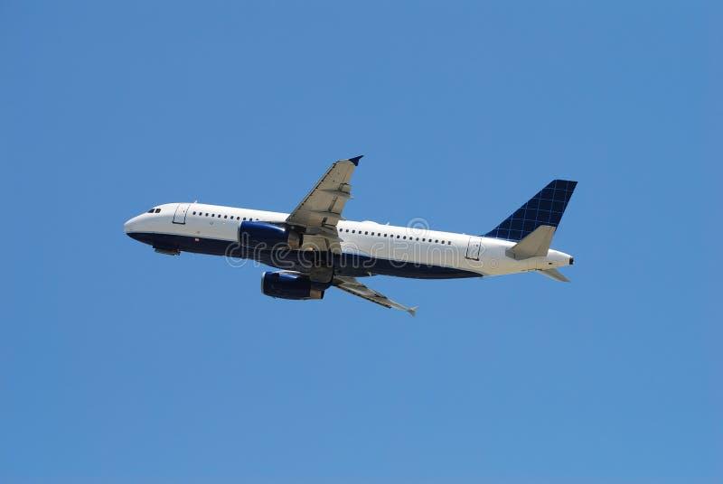 空中巴士喷气机乘客 免版税库存图片