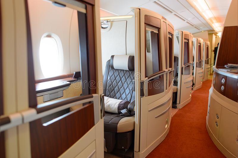a380空中巴士航空公司新加坡 库存图片