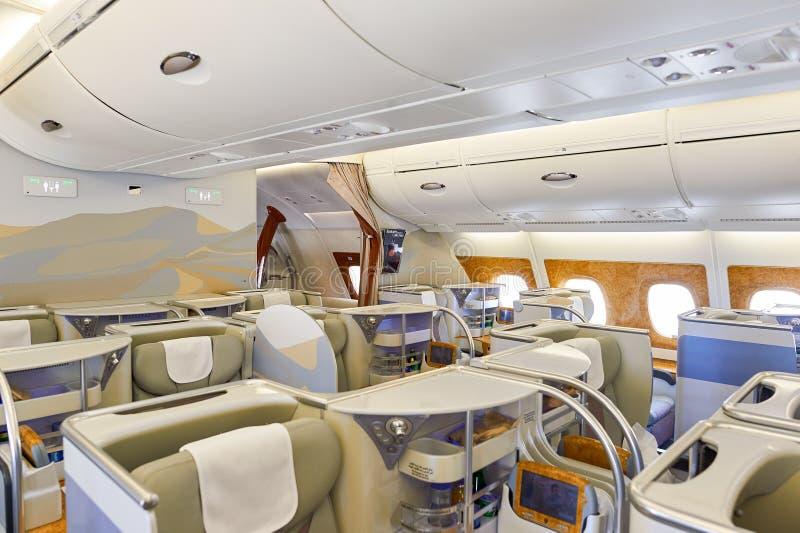 a380空中巴士酋长管辖区 库存照片