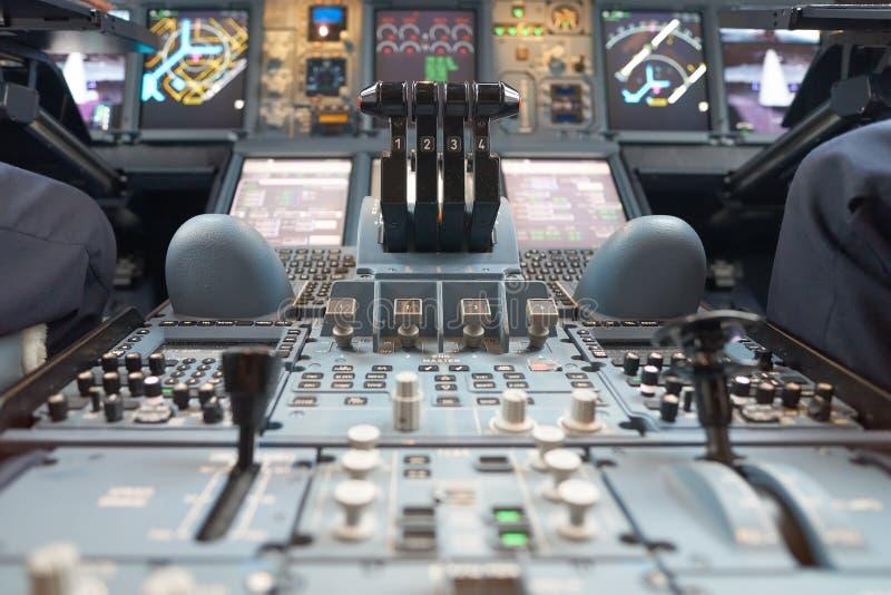 a380空中巴士酋长管辖区 库存图片