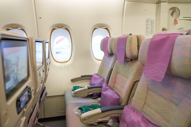 a380空中巴士酋长管辖区 免版税库存照片