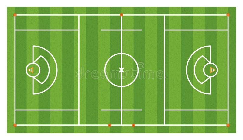 Download 空中曲棍网兜球领域例证 向量例证. 插画 包括有 眼睛, 体育运动, 管理规定, 曲棍网兜球, 边线, 向量 - 72350052