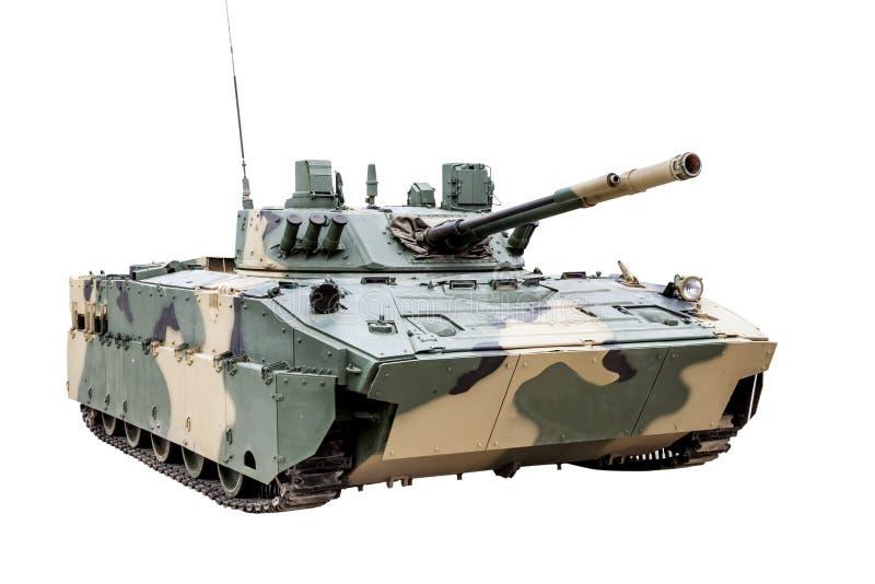 空中被隔绝的BMD-4战斗用车辆 免版税库存图片