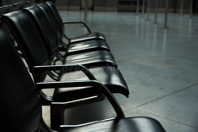 空位进去行在机场 库存图片