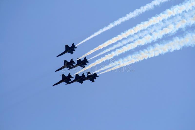 空军喷气机 免版税库存图片
