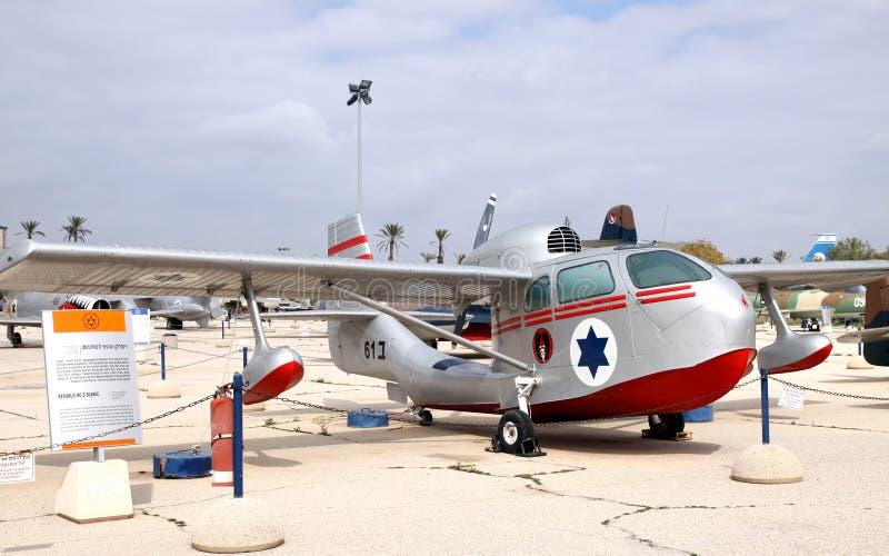 空军队的博物馆他以色列国防军。Kfir是  免版税图库摄影