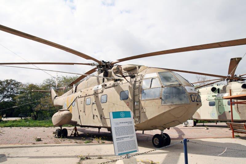 空军队的博物馆他以色列国防军。Kfir是  库存图片
