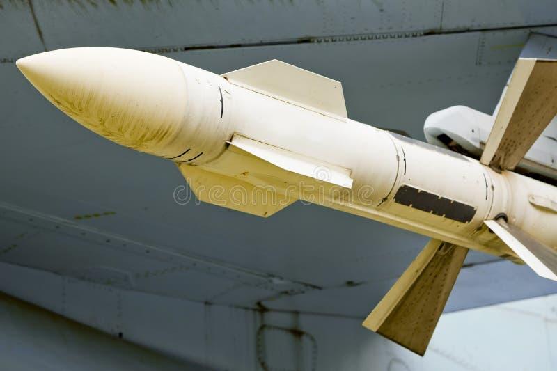 空对空导弹 免版税图库摄影