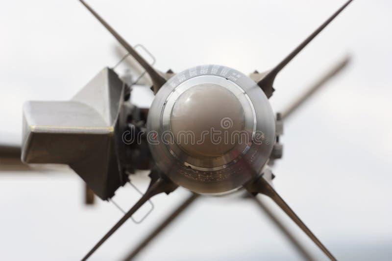 空对空导弹 免版税库存照片