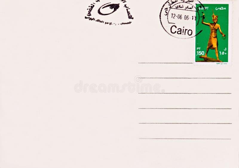 空插件埃及过帐 免版税图库摄影