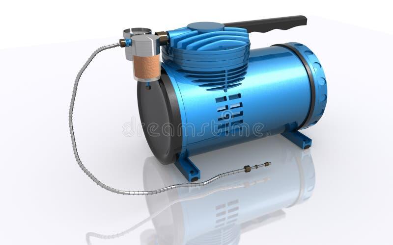 空气压缩机 库存例证