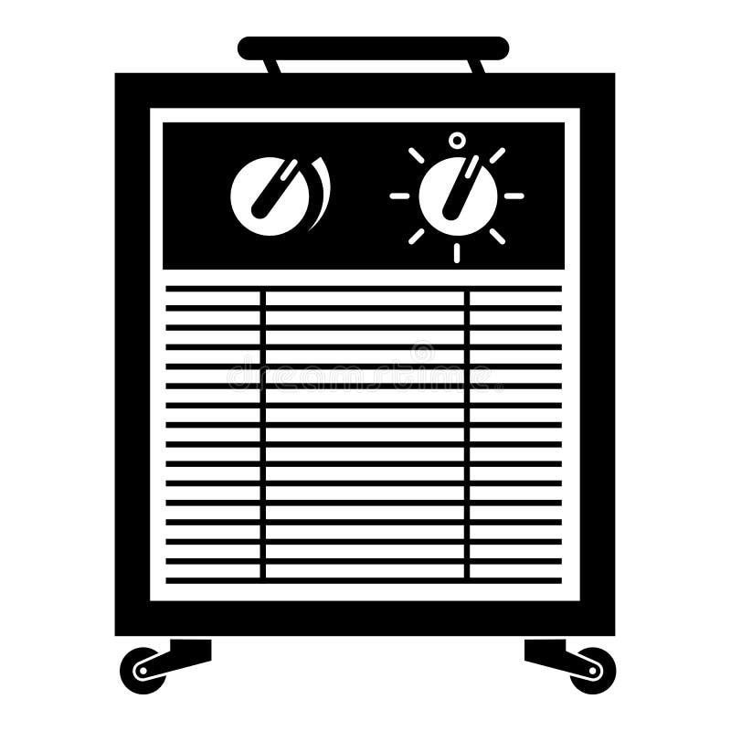 空气滤清器象,简单的样式 库存例证