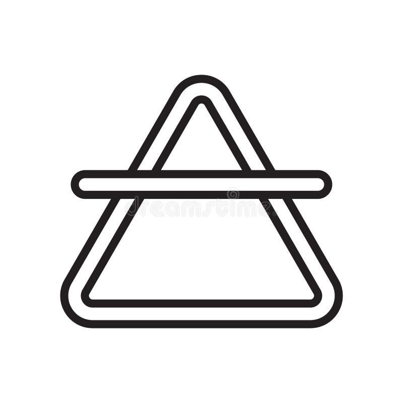空气象在白色背景和标志隔绝的传染媒介标志,Ai 库存例证