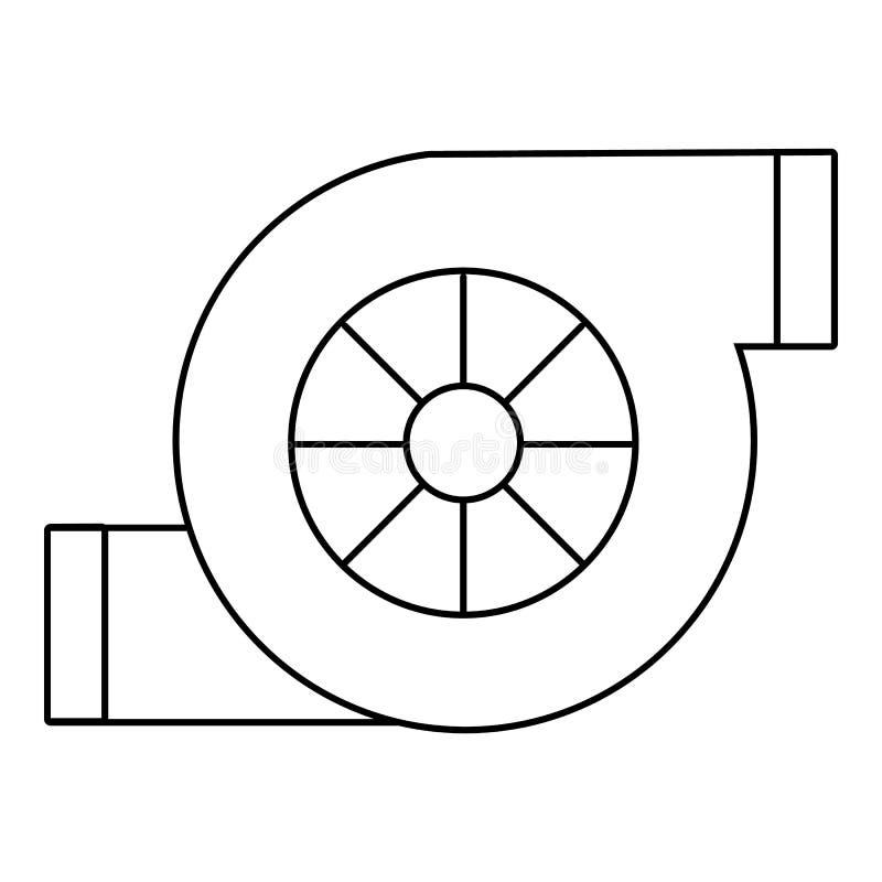 空气过滤器汽车象,概述样式 库存例证