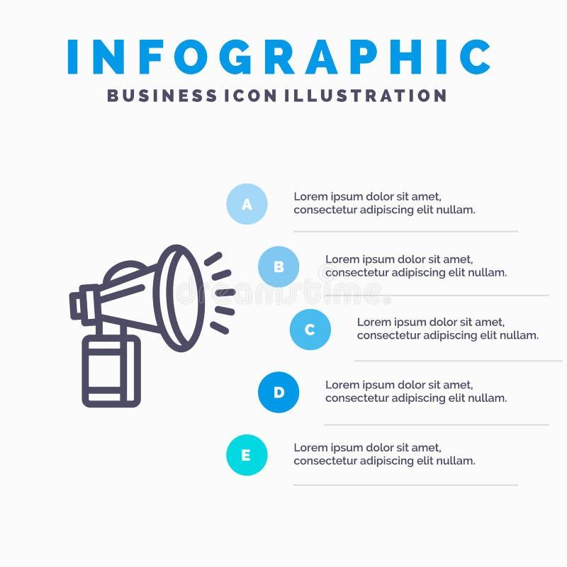 空气,属性,罐头,爱好者,垫铁线象有5步介绍infographics背景 库存例证