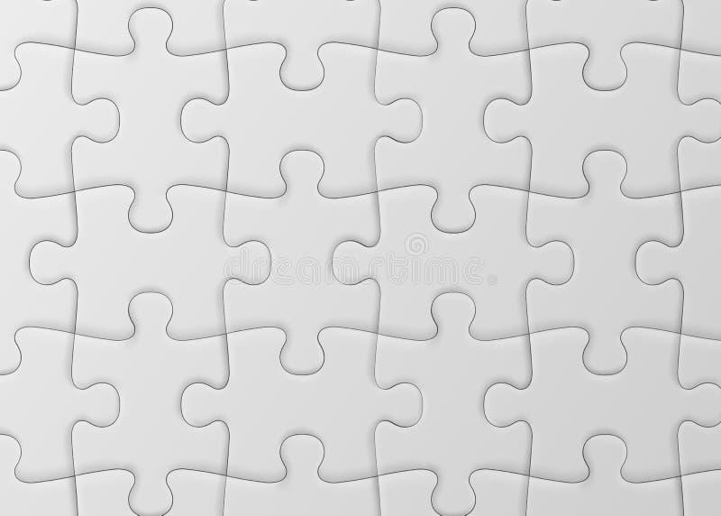 空白七巧板 空白的简单的背景 向量例证