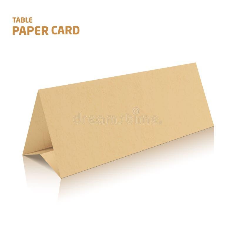 空白三部合成的纸小册子大模型 3d在颜色的传染媒介例证 皇族释放例证