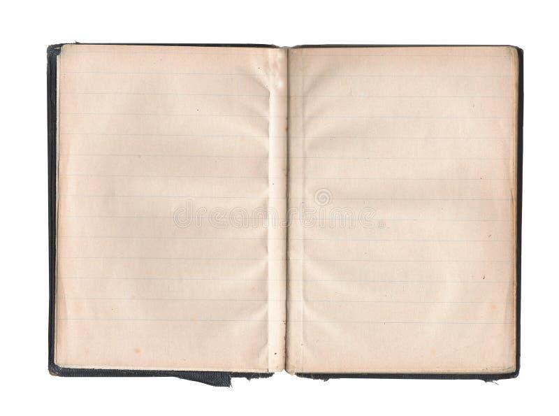 空白书老页 库存图片