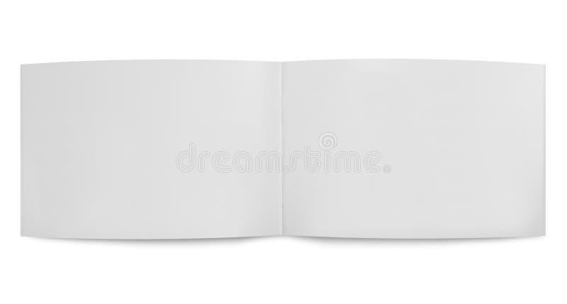 空白传单开放促销 免版税库存图片