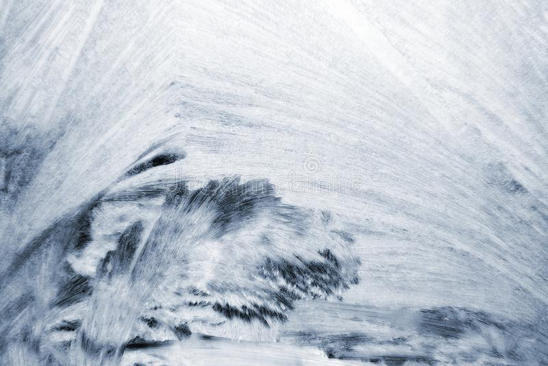 空白冰模式 图库摄影