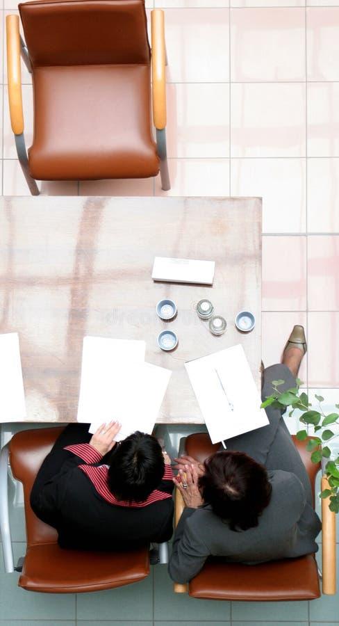 空白决策纸张 免版税库存照片