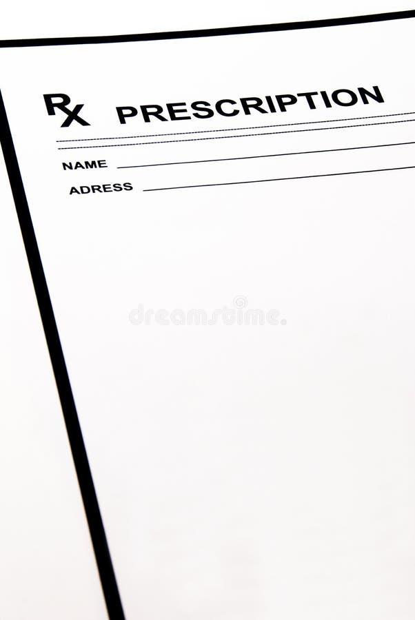 空白填充规定 免版税库存图片