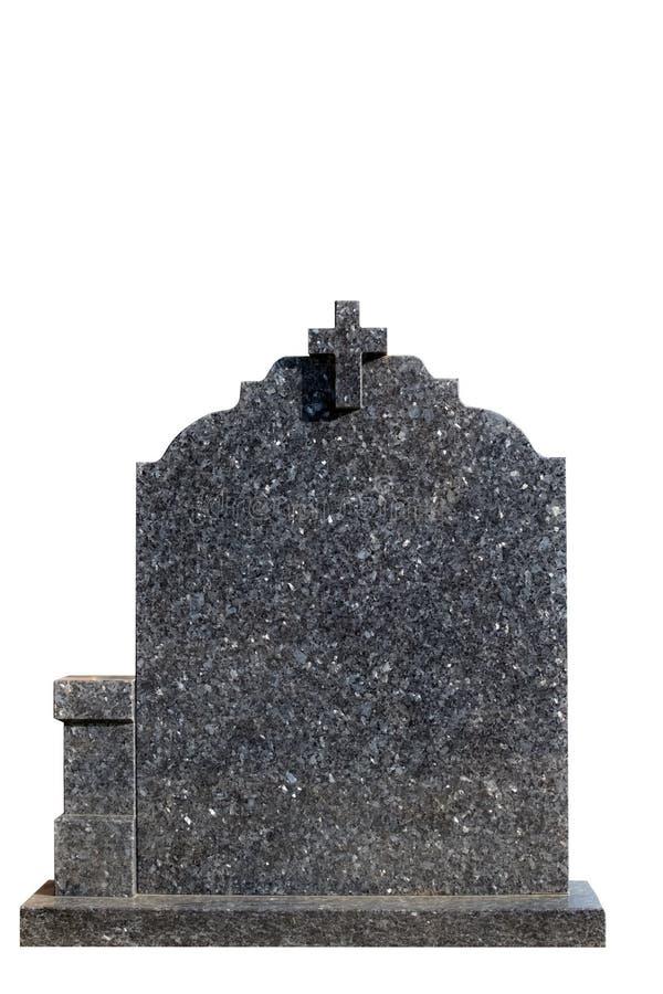 空白墓碑 免版税图库摄影