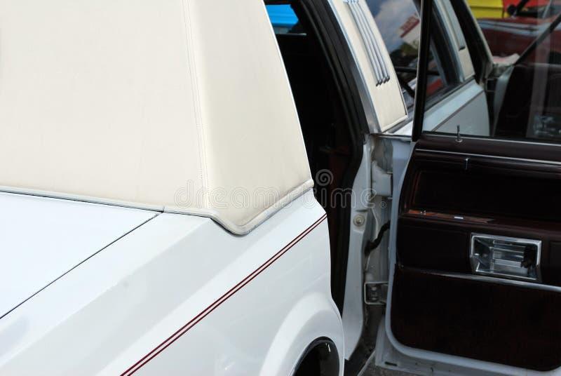 空白大型高级轿车 免版税库存图片