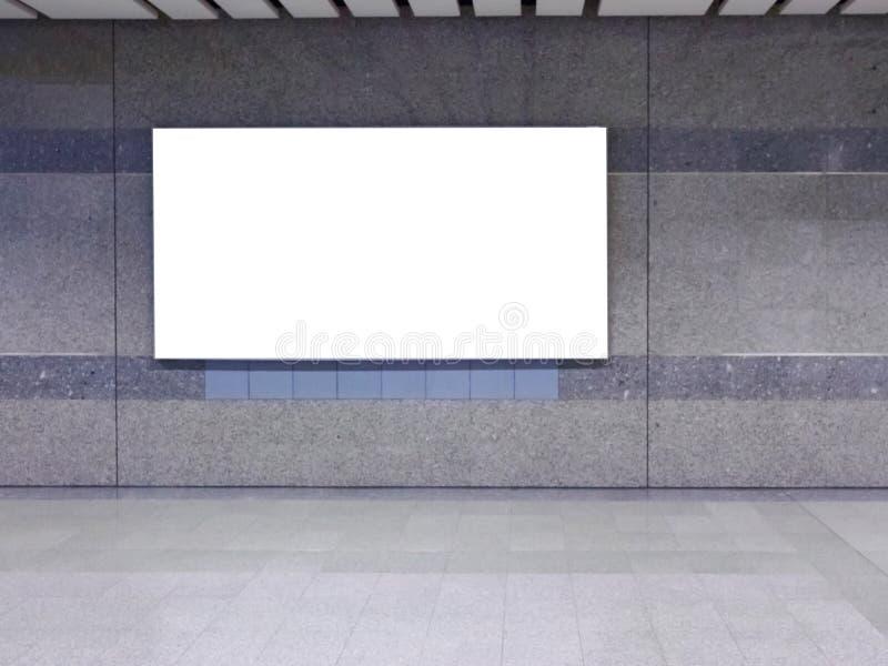 空白广告牌 免版税库存图片