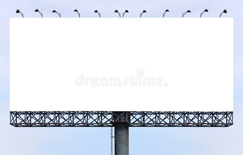 空白广告牌 图库摄影