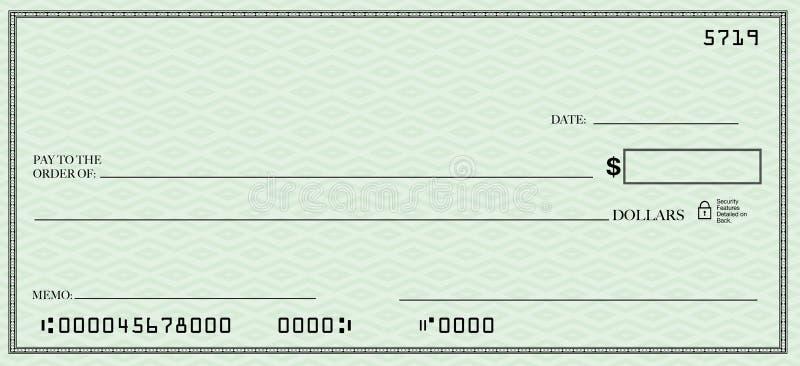 空白支票您露天场所的文本