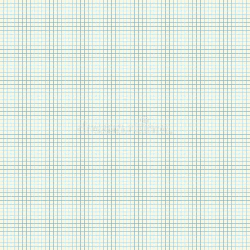 空白方格纸板料传染媒介例证 库存例证