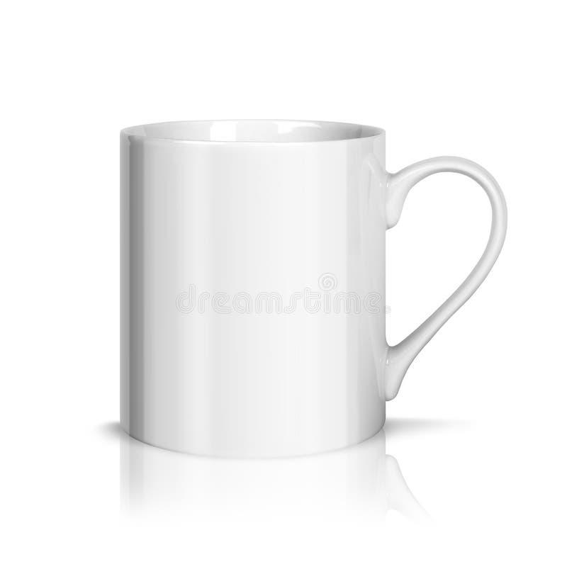 空白杯子 免版税库存照片