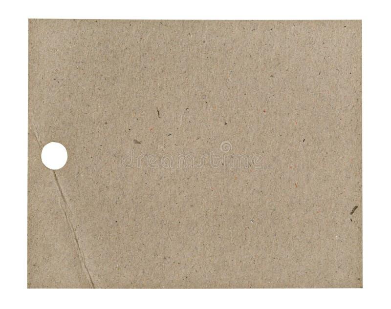 空白标签 免版税库存照片