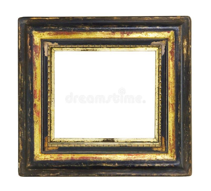 空白框架照片葡萄酒 库存照片