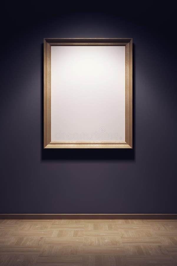 空白框架画廊 向量例证