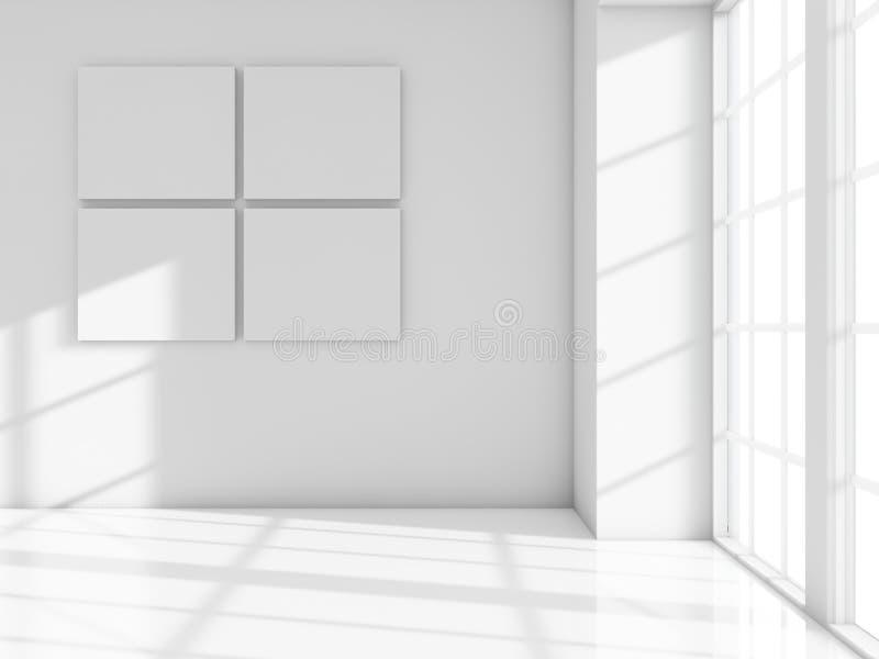 空白框架 库存例证