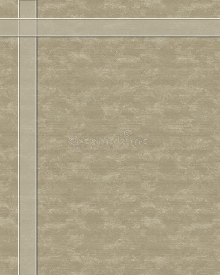 空白模板 库存例证