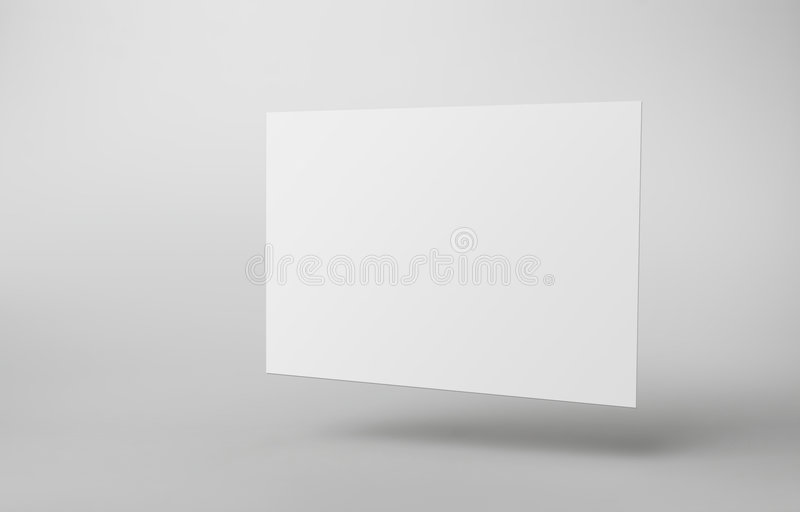 空白模板 库存图片